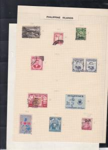 philippine islands stamps page ref 18014