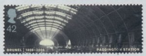 Great Britain SG 2609 SC# 2355  Used Paddington Station Brunel  see details