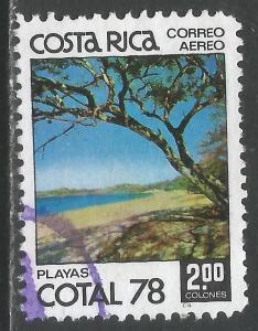 COSTA RICA C708 VFU O060-1