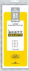 Mounts Scott's, 61/215 mm (15 ea Clear) (00938C)