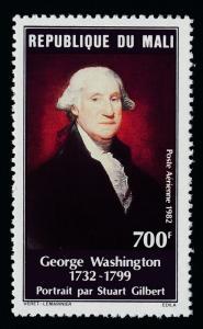 Mali C446 MNH George Washington, Painting