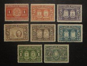 Honduras C155-62. 1946 Coats of Arms, FDR, NH