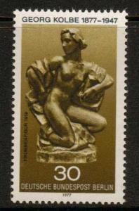 GERMANY SGB531 1977 BIRTH CENT OF GEORG KOLBE (SCULPTOR) MNH
