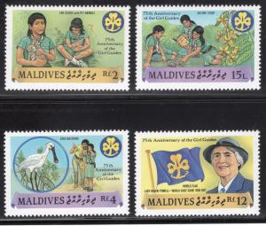 MALDIVE ISLANDS SCOTT 1241-1244