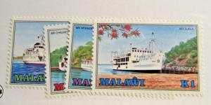 MALAWI  Sc #466 467 468 469 ** MNH postage stamps, ships boats , Fine +