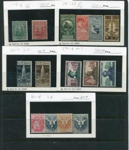 Italy Lot of earlies  Mint  F-VF HICV  -  LSP