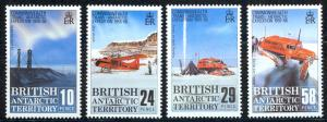 British Antarctic Territory Sc# 145-148 MNH 1988 Trans-Antarctic Expedition