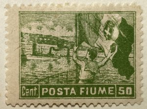 AlexStamps FIUME #51 VF Mint
