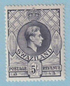 SWAZILAND SG 37 13.5 X 13 MINT HINGED OG * NO FAULTS VERY FINE!