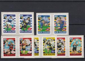 New Zealand 1999 Rugby Self Adhesive Mint Never Hinged Stamps Ref 28610