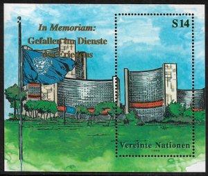 UN, Vienna #265 MNH S/Sheet - In Memoriam