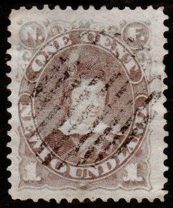 Newfoundland Scott 41 (1880) Used F, CV $11.50 C