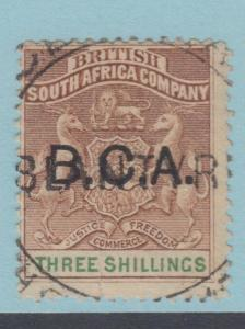 BRITISH CENTRAL AFRICA 10 - NO FAULTS EXTRA FINE!