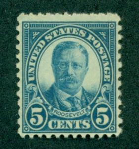 UNITED STATES SC# 637 F-VF MNH 1927