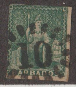 Barbados Scott #5 Stamp - Used Single