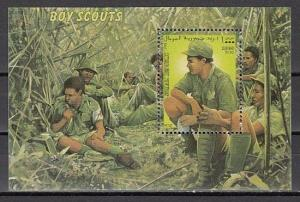 Somali Rep., 1999 Cinderella issue. Scouting s/sheet.