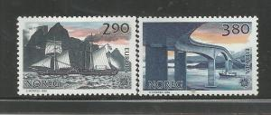 NORWAY, 928-929, MH, EUROPA