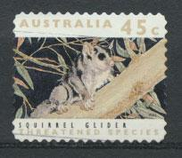 Australia SG 1328  Used perf 11½ Threatened Species - Squirrel Glider