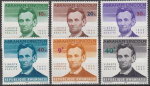 Rwanda #92-7 MNH CV $3.50 (K576L)