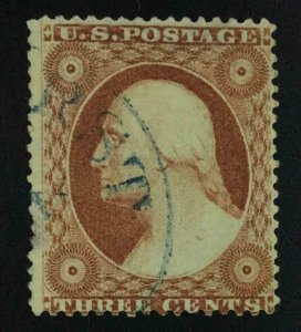 MOMEN: US STAMPS #26 USED LOT #54348
