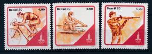 [63063] Brazil Brasil 1980 Olympic Games Moscow - Shooting Cycling  MNH