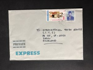 Indonesia #780//B242 Cover to Finland (1970-1999) Cover #2218