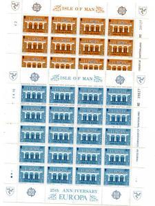 Isle of Man 1984  Europa sheets Mint VF NH - Lakeshore Philatelics