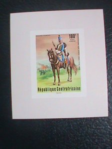 ​CENTRAL AFRICAN STAMP:1976-SC#C144 BI-CENTENARY OF AMERICAN REVOLUTION S/S #3