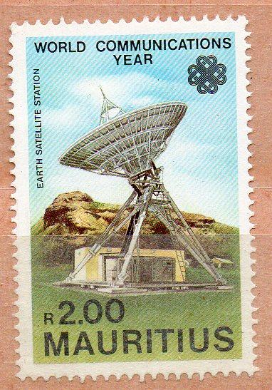 MAURITIUS - WORLD COMMUNICATIONS YEAR - 1983 - R2.00 -