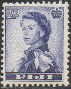 Fiji 1956  2½d blue-violet  MH