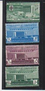 Saudi Arabia Scott # 201-204 Set Mint Light Hinged Buldings