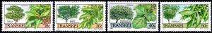 Transkei - 1989 Trees Set MNH** SG 241-244