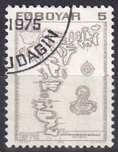 Faroe Islands #7 F-VF Used  (V4883)