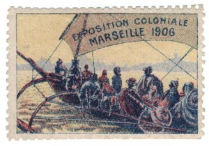 (I.B) France Cinderella : Exposition Coloniale (Marseille 1906)