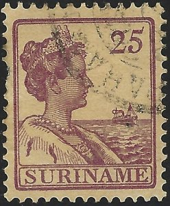 Surinam #101, Used