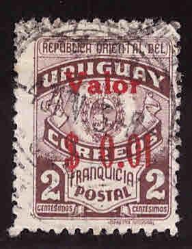 Uruguay Scott 524 used stamp