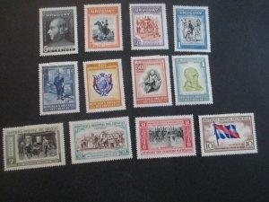 Uruguay #586-97 Mint Hinged WDWPhilatelic (H5K7)