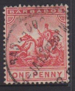 Barbados Sc#94 Used