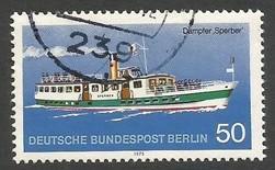 GERMANY BERLIN 9N356 VFU SHIP 693C-1