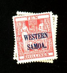 Samoa #195 197 MINT F-VF OG LH Cat $32