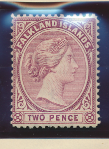 Falkland Islands Stamp Scott #13, Mint Hinged - Free U.S. Shipping, Free Worl...