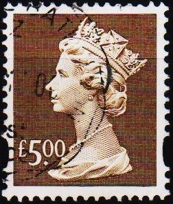 Great Britain. Date? £5 Fine Used