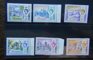 Bermuda 1966 - 1969 set to 2s LMM SG195 - SG200