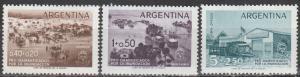 Argentina #B17, CB13-4  MNH (S1628)