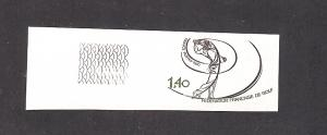 France, 1714, French Golf Federation IMPERF Single,**MNH**