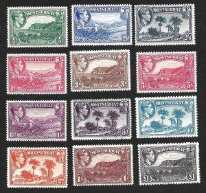 Doyle's_Stamps: Choice Montserrat King George VI Stamp Lot
