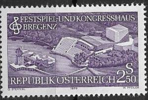 Austria 1979 Festival and Convention Center Bregenz SC# 1135 MNH