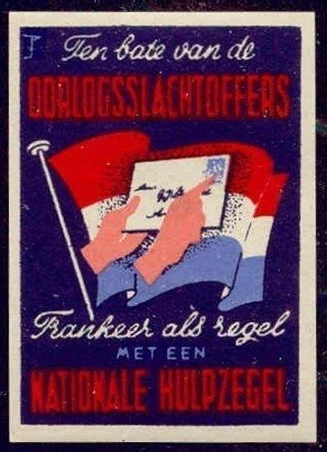 Netherlands - Benefit War Victims Poster Stamp