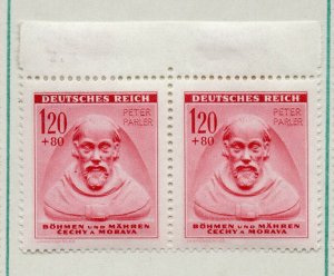 German Bohemia 1943 Early Issue Fine Mint Hinged 1.20K. NW-91573
