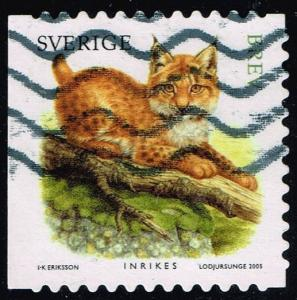 Sweden #2518a Lynx; Used (1.60)
